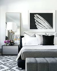 Grey White Black Bedroom Black White Bedrooms Grey Silver And Black ...