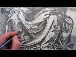 How To Draw Fabric Folds: Drawing based on Leonardo da Vinci ...