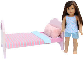 Adorable Bedroom Set for American Girl Doll 18 Toy Linens Pajamas ...