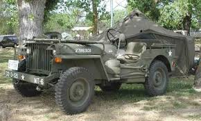 history of the jeep both the word and the vehicle how it got photograph of 1942 willys slatgrill jeep close up