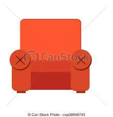 sofa chair clip art. Exellent Chair Sofa Chair Icon  Csp38949743 With Sofa Chair Clip Art C