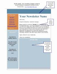 Microsoft Office Word Newsletter Templates Microsoft Office Newsletter Template Lovely 27 Microsoft