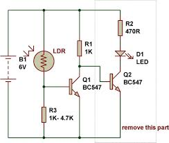Automatic Light Operated Switch Using Ldr And Ic 741 Ldr Engineering Buildcircuit Com