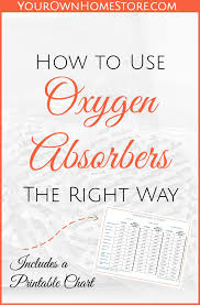 How To Use Oxygen Absorbers The Right Way Freeze Drying