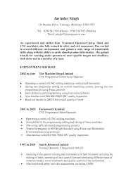Machinist Resume Template Enchanting Machinist Resumes Samples In Machine Operator Cover 19
