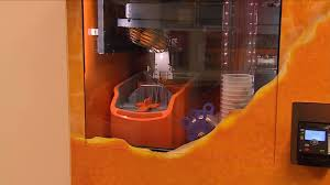 High Tech Vending Machines For Sale Gorgeous Hightech Squeeze New Vending Machine Offers Fresh Juice CTV