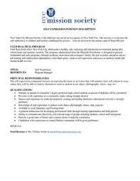 1000 idées sur le thème Event Coordinator Job Description sur ... GROUP WORKER POSITION DESCRIPTION New York City Mission Society is the oldest private social service agency