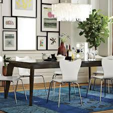 west elm dining table large rectangle hanging capiz chandelier white west elm sets