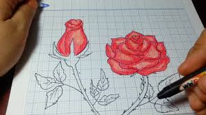 VẼ HOA HỒNG ĐƠN GIẢN NHẤT/How to Draw a Rose (and add color) Super EASY  Realistic - YouTube