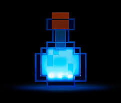 minecraft color changing potion bottle