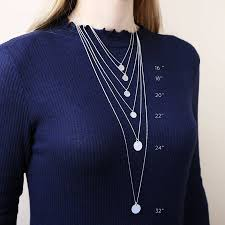 necklace chain lengths