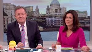 Gmb Susanna Reid Tells Off Piers Morgan For Eating Toast