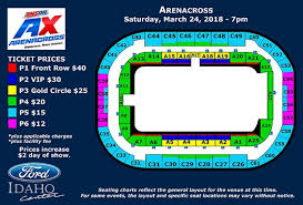 Seating Chart Ford Idaho Center Events Amsoil Arenacross Ford Idaho Center