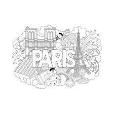 Poster G Ant Colorier Pour Enfant France Paris