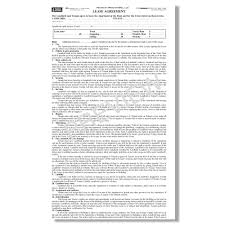 Blumberg Lease - New York Residential Lease Forms