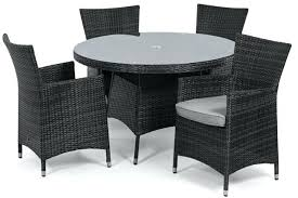full size of grey outdoor dining table and chairs metal garden baby rattan furniture 4 seat