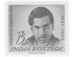 the believer encounter the infinite ramanujan commemorative postage stamp issued in in 1962