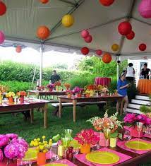 garden party decorations summer party