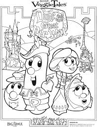 Small Picture Veggie Tales Coloring Pages