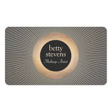 makeup artist slogans for business cards makeup artist business card templates bizcardstudio