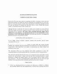 Power Of Attorney Form Free Printable Example Living Will Sample By ...