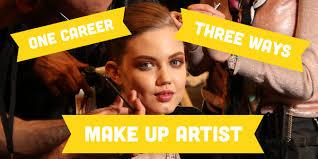 one career three ways make up artist