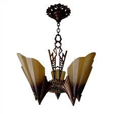 midwest soleure 5 light bronze slip shade chandelier