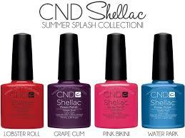 <b>CND Shellac Summer Splash</b> Collection 2013 New - Lobster Roll ...