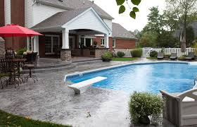 screened back patio pool designs with patio ideas medium size pool patios and porches patio designs above ground swimming