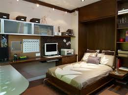 bedroom track lighting. Contemporary Bedroom Design With Track Lighting And Murphy Bed Plus Crown Moulding Also Carpet Squares Baseboard Glass Cabinets Door G
