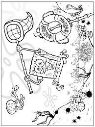 Kleurplaat Spongebob En Patrick Sponge Bob Kleurplatenlcom