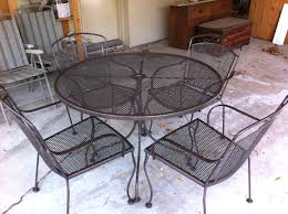 expanded metal patio table expanded metal patio table and chairs best
