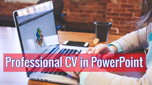 How To Make Professional Cv In Powerpoint Maksud Hasan