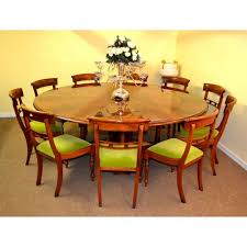 Bespoke Regency Flame Mahogany Jupe Dining Table And 10 Chairs 21st