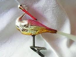 Weihnachtsschmuck Christbaumschmuck Bird Vogel Schwan Swan
