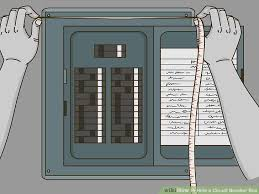3 ways to hide a circuit breaker box wikihow circuit breaker box labels image titled hide a circuit breaker box step 1