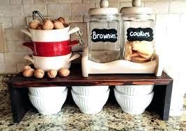 kitchen counter storage kitchen counter organizer ideas