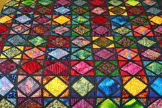 Stained Glass Quilt Pattern Custom Stained Glass Quilt Pattern 48 Best STAINED GLASS QUILTS Images On