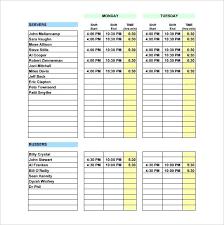 weekly schedule example sample weekly schedule template weekly schedule sample work