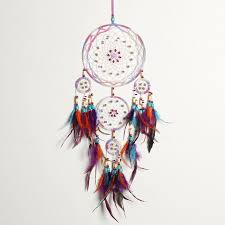 Dream Catcher Christmas Ornament Handmade Fashion Design 100 Circle Dream Catcher with feather wall 28