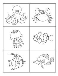 under the sea worksheets | Labels: Exploring the Ocean: Unit 1 ...