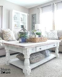 stunning white rustic coffee table best ideas about tables on furniture village