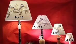 Lamp Shade Size Chart Lamp Hats