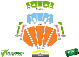 microsoft theater seating chart barry