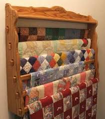 Best 25+ Quilt racks ideas on Pinterest | DIY quilting rack, Quilt ... & Large wall Quilt Hanger that hold up to six quilts. Many options, from woods Adamdwight.com