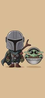 Baby Yoda and Mandalorian Iphone XS MAX ...