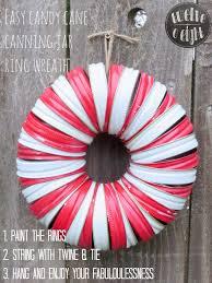 Diy Christmas Wreaths How To Make A Holiday Wreath Craft ~ idolza