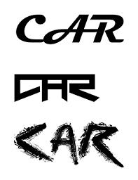 Word Cars Graphic Resumes And Adobe Illustrator Viraj Ranas Blog Art 003