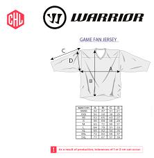 Nhl Jersey Size Chart Sizechart Jersey Champions Hockey League Shop Powered By