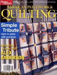 American Patchwork & Quilting Magazine Subscription Discount ... & American Patchwork & Quilting Magazine; American Patchwork & Quilting  Magazine Adamdwight.com